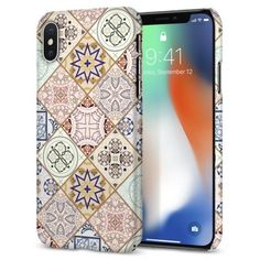 Husa slim iPhone X Spigen Thin Fit Arabesque - TotalMobil Iphone Cases For Girls, Iphone Cases Cute, Video Pink, Diy For Girls, Screen Protector, Apple Iphone, Print Patterns, Fitness