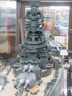 Japanese battleship Ise 1/100 scale