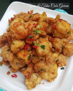 Tofu Recipes, Asian Recipes, Snack Recipes, Cooking Recipes, Healthy Recipes, Drink Recipes, Cantonese Food, Cooking Ingredients, Indonesian Food