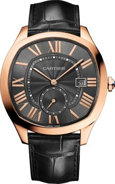 Drive de Cartier watch 18K pink gold, leather - $19,300