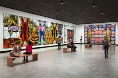 Gilbert & George's first exhibition in Australasia opens at the Museum of Old and New Art