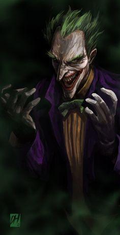Joker by davidhueso.deviantart.com on @deviantART