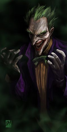 Joker by davidhueso.deviantart.com on @deviantART