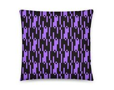 Decorative Pattern Pillow Purple Pillow Pillow 18 x 18 Purple Pillows, Boho Pillows, Wiccan Alter, Wiccan Books, Pagan Beliefs, Moon Pillow, Wiccan Magic, Wiccan Symbols, Colorful Wall Art