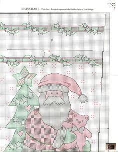 Debbie Mumm's Santa Claus Stocking 3