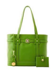 another pretty green purse I like.