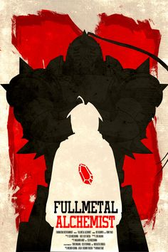Fullmetal Alchemist - Minimalist Poster by ChipsEss0r on DeviantArt