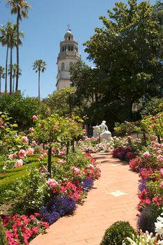 Hearst Castle gardens (San Simeon, CA)