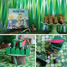 Peter Pan in Neverland party