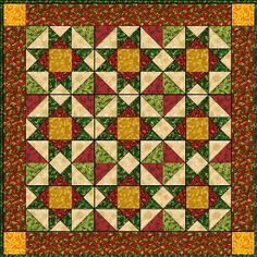 Free Quilt Pattern featured in Sova-Enterprises.com Newsletter!