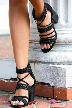 a2853010b8c3 Carlos by Carlos Santana Black Block Heel Sandals Shop Simply Me Boutique –  Simply Me Boutique