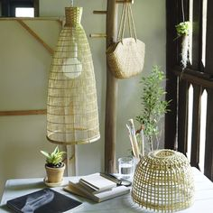 Items similar to Bamboo Pendant Lamp, Woven Bamboo Lamp, Lamp Shade, on Etsy Metal Ceiling, Ceiling Rose, Lava, Basket Lighting, Bamboo Lamp, Bamboo Weaving, Lamp Socket, Hanging Chair, Pendant Lamp