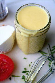 SCD Hollandaise Sauce  (*Use SCD legal garlic salt...)