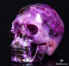 MOSHITA — Carved Crystal Skulls skullis