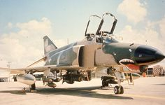 F-4 from Korat, ready for a short visit to Vietnam