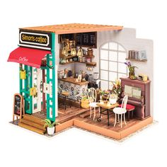 Free 2-day shipping. Buy DIY Miniature Model Kit: Simon's Coffee Shop at Walmart.com