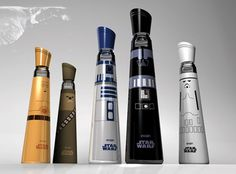 Evian Star Wars Water Bottles by Mandy Brencys. Not an official collaboration that you will see in stores any time soon.