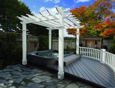 Find New England Arbors Liberty Pergola online. Shop the latest collection of New England Arbors Liberty Pergola from the popular stores - all in one Diy Pergola, Pergola Canopy, Cheap Pergola, Wooden Pergola, Outdoor Pergola, Pergola Shade, Backyard Patio, Pergola Ideas, Pergola Roof