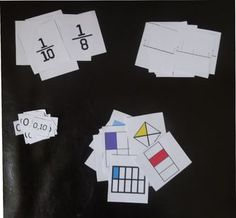 Maisons des fractions : les jeux Fractions, Cycle 3, Montessori Math, School Games, Math Centers, About Me Blog, Cycling Tips, Afin, Math Games