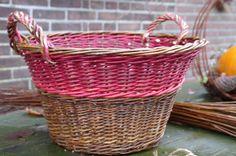 Wilg gecombineerd met takken van de rode kornoelje struik Door: Anja van der Veer