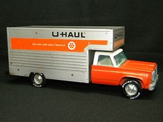 My grandparents rented UHAUL trucks and sold UHAUL toys from their gas station, so I had a few of these as a kid :)