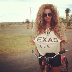 Beyonce holdin' it down for TX