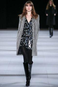 16fa0948 101 Best YSL / Saint Laurent images   Fall winter, Fashion show ...