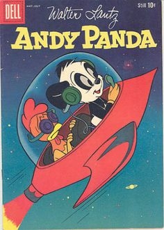 Andy Panda. I remember my grandma reading this to me.