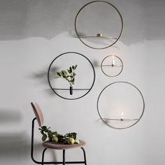 POV Circle Wand-Vase L