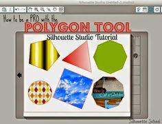 Use the Silhouette Studio Polygoon Tool like a PRO! #Silhouette #Silhouetteideas #silhouetteprojects #silhouettecameo #silhouettetutorials