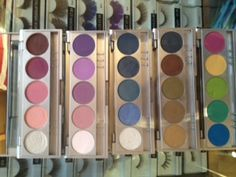 Kryolan 'Shades' five colour palettes, inspired by and named after stunning cities across the globe - Helsinki, Abu Dhabi, Berlin, Cairo, Dublin, Las Vegas, Mexico City, Paris, Rio, Santiago, Tokyo. These are just a few examples.