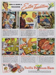 Wartime Easter treats | Vintage Easter Ads