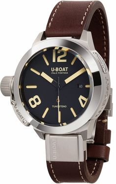 @uboatuk Watch Classico 50 Tungsten #best-seller-yes #bezel-fixed #bracelet-strap-leather #brand-u-boat #case-material-steel #case-width-50mm #clasp-type-deployment #date-yes #delivery-timescale-call-us #dial-colour-black #gender-mens #luxury #movement-automatic #official-stockist-for-u-boat-watches #packaging-u-boat-watch-packaging #subcat-classico-50mm #supplier-model-no-8092 #warranty-u-boat-official-2-year-guarantee