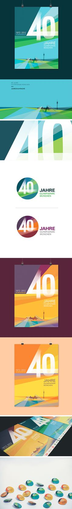 Design of a key visual on the occasion of the 40th anniversary as the annual campaign. Application to posters, advertisements, outdoor advertising, giveaways, etc.