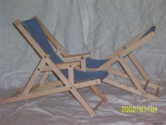 Mini Beach Reclining Chair - directions and other good tutorials