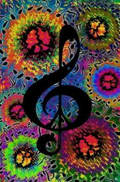 ☮ American Hippie Music ☮ Tie Dye Peace Sign