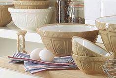 Perfect mixing bowls.