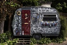 Top 10 Creative and Unusual Caravans Not so good for towing it around, but if you have a static caravan in the garden why not to something rather amazing with it and turn it into a sort of stone built guest house!