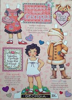 Mary-Engelbreit-Mag-Paper-Doll-GEORGIA-Feb-March-1999-Uncut