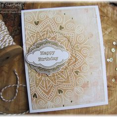 "58 Likes, 4 Comments - Sally Sherfield (@sallys_cards) on Instagram: ""Embossed resist a favourite technique of mine, card made for the Simon Says Flickr group challenge…"""