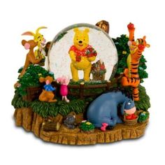 Photo courtesy of DisneyShopping.com. Winnie the Pooh Description from DisneyShopping.com: It's harvest-time in the 100 Acre Wood as Pooh...