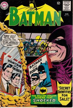 Batman 1940 173 August 1965 Issue DC Comics Grade by ViewObscura, $20.00
