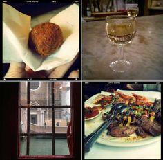 Venezia. 12 piccoli bacari per mangiare e bere a piccolo prezzo Travel Guides, Stockholm, Chicken Wings, Tapas, Yummy Food, Amsterdam, Passion, Viajes, Venice
