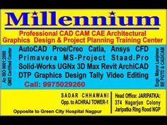 millenniumcad Civil plan Cad cam training_1  call 9975029260