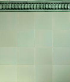 GOLEM Kunst und Baukeramik GmbH | Verlegebeispiel F 10.64 | Golem – In Handarbeit gefertigt. #Shower #Kitchen #Bathroom #Architecture #ArtNouveau #ArtDeco #Design #Tiles #Interior #ceramics #OldTiles #AlteFliesen #NeuesdurchTradition #GOLEMtiles #Architecturalceramics  http://www.golem-baukeramik.de https://www.facebook.com/GOLEMceramics/ https://www.instagram.com/golembaukeramik/