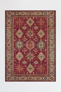 Shop area rugs, accent rugs and runner rugs at Ruggable. Washable, stain-resistant and waterproof, our rugs are perfect for homes with kids and pets. Washable Rugs, Woven Rug, Red Persian Rug, Kilim, Rug Stain, Coral Rug, Ruggable, Cool Rugs, Machine Washable Rugs