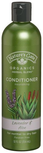 Nature's Gate Organics Conditioner, Lavender & Aloe, 12 Ounce (Pack of Sulfate Free Conditioner, Hair Conditioner, Nature's Gate, Organic Shampoo, Organic Aloe Vera, Hair Shampoo, Smooth Hair, Hair Care Tips, Herbalism