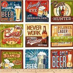 "Kaufman Cheers Beer Signs 24"" Panel Ivory"