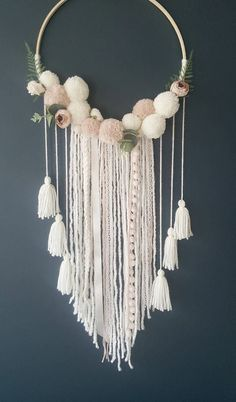This is the tenderest dream catcher I've ever seen