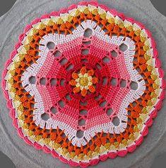 Ravelry: Sunday Afternoon Tea Mandala pattern by zelna olivier